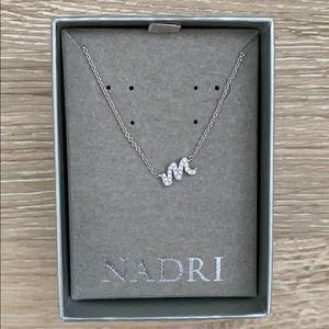 """Nadri """"M"""" necklace"""